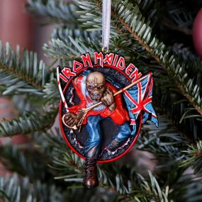 Iron Maiden The Trooper Hanging Ornament 8.5cm