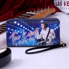 Purse - Elvis The King of Rock and Roll 19cm