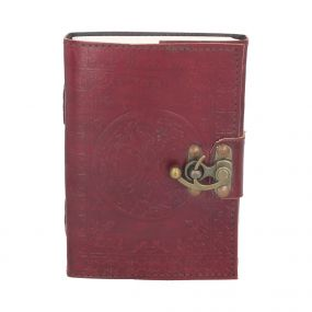 Tree Of Life Leather Journal (small) 13 x 18cm