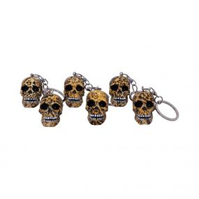 Wild Keyrings (Set of 6) 5cm