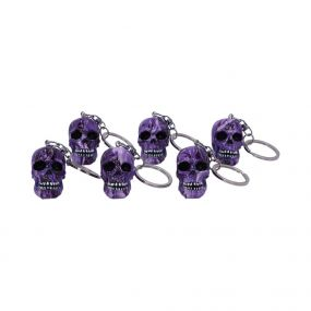 Purple Romance Keyrings (Set of 6) 5cm