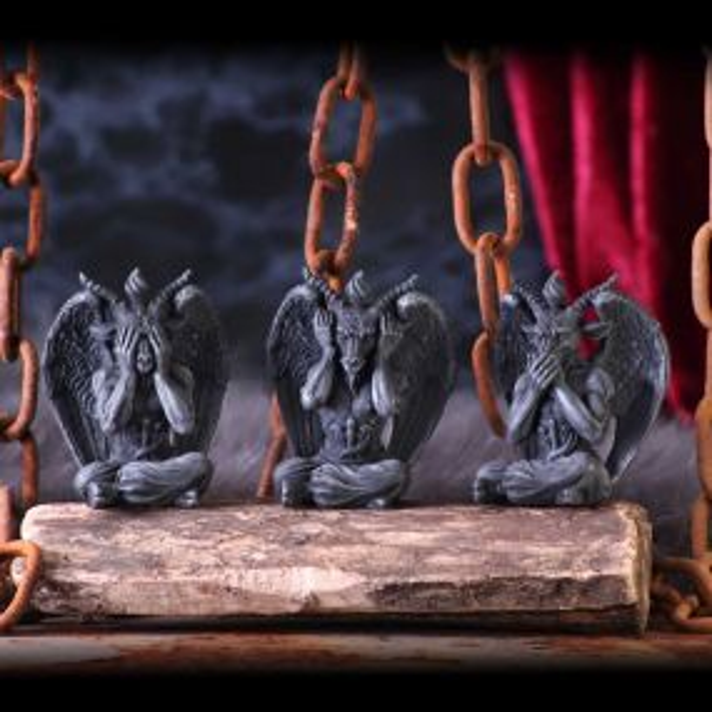 Three Wise Baphomet 10.2cm