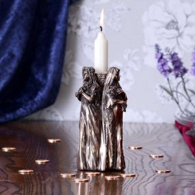 Maiden, Mother, Crone Candle Holder 17cm