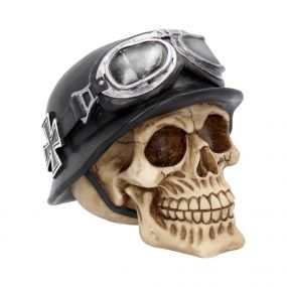 Iron Cross Skull 15.5cm