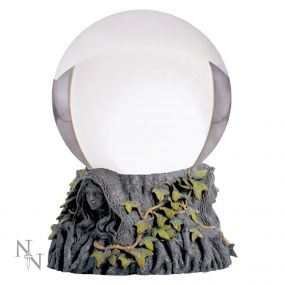 Crystal Ball Stand Maiden Mother Crone & Ball
