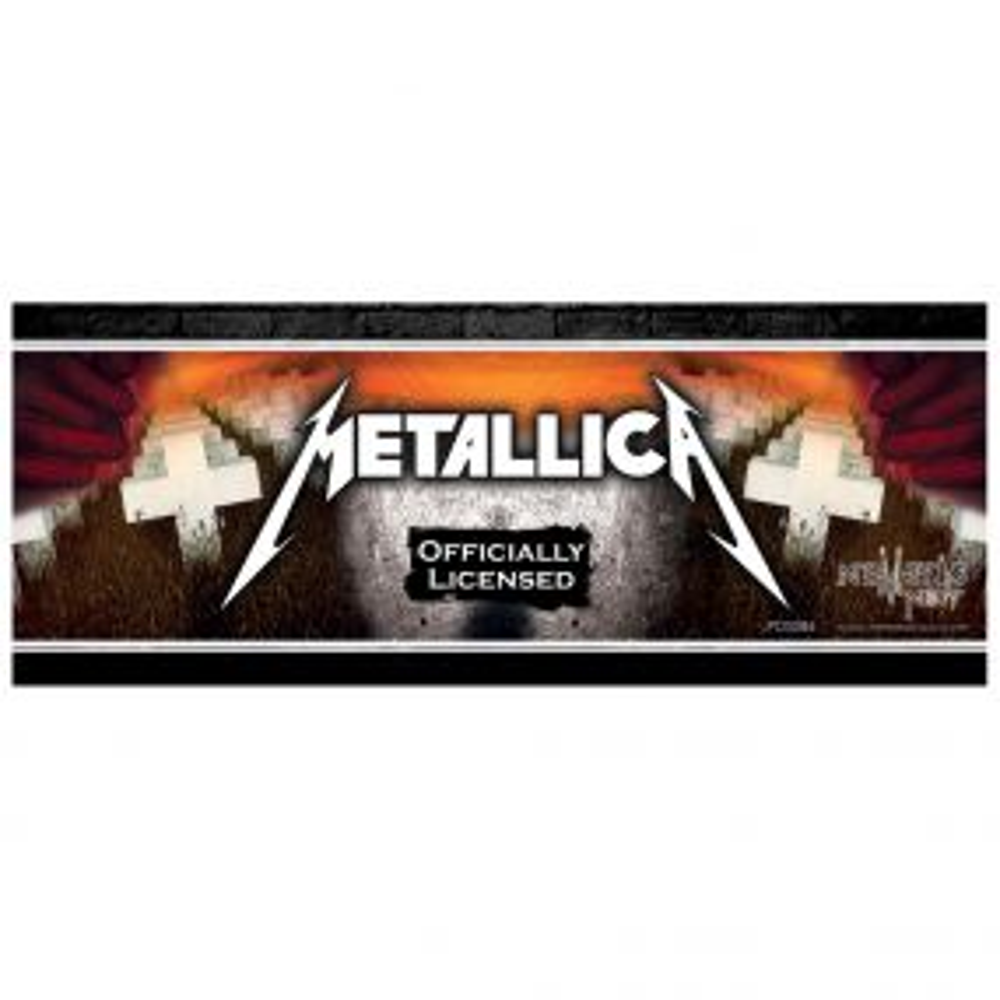Metallica Shelf Talker