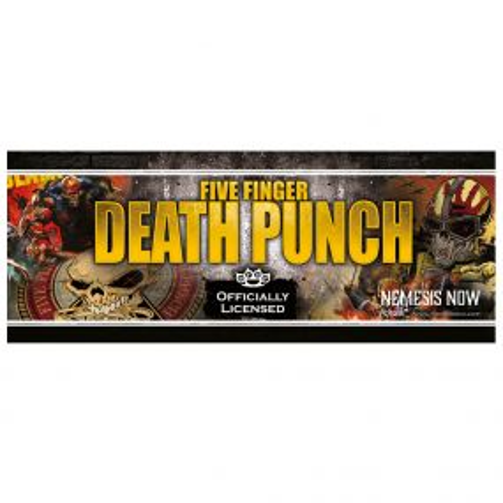 Five Finger Death Punch Shelf Talker