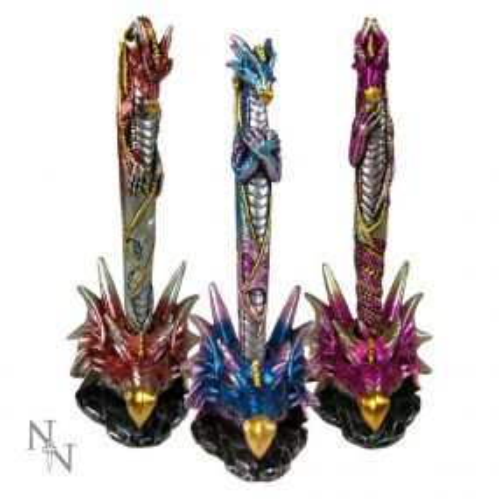 Dragon Pens & Holders 16.5cm  (Set of 3)