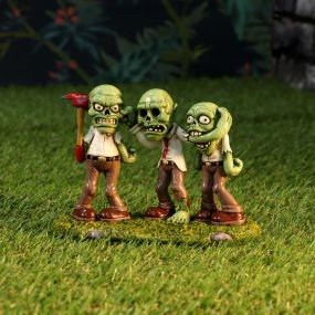 Three Wise Zombies 15.5cm