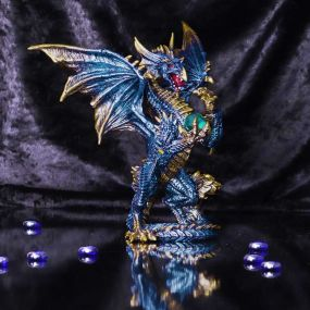 Sapphire Orb Guard 21.2cm