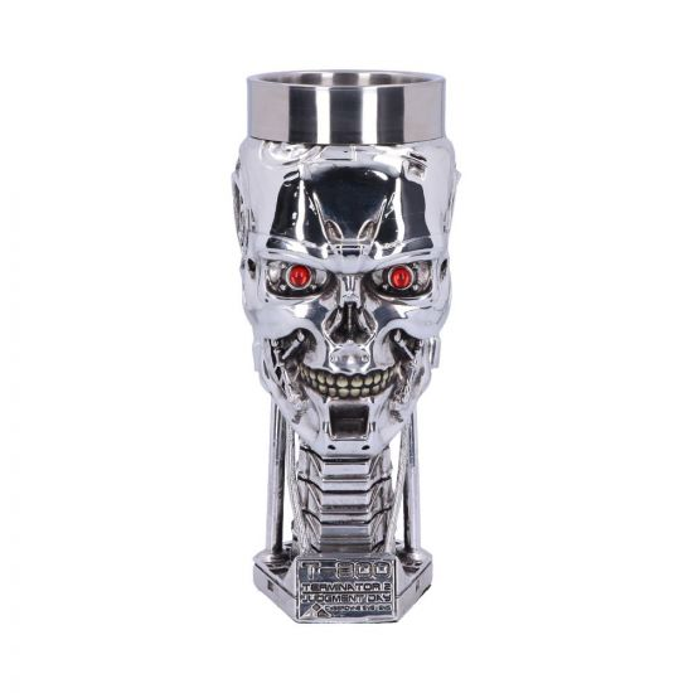 Terminator 2 Head Goblet 17cm Sci-Fi Terminator 2 Artist Collections