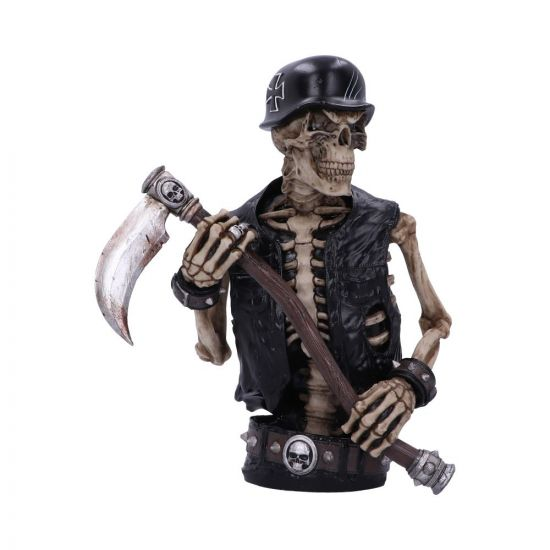 Ride out of Hell Bust (JR) 30cm Bikers Large Figurines
