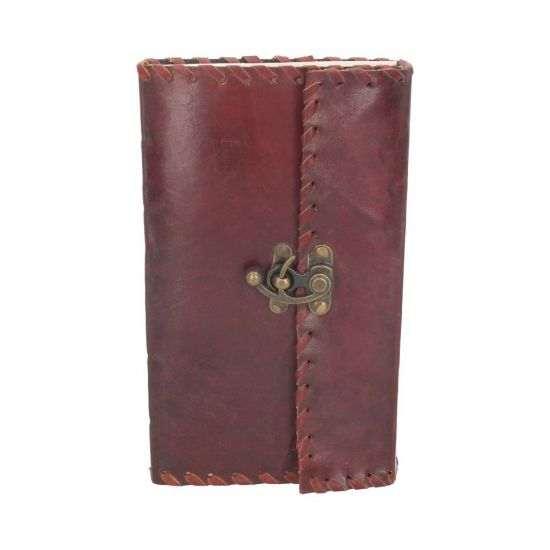 Leather Journal with Lock 14cm x 23cm Witchcraft & Wiccan Sorcellerie et Wiccan