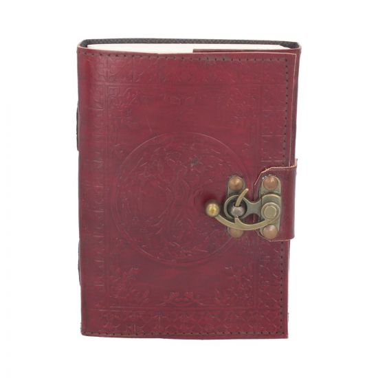 Tree Of Life Leather Journal (small) 13 x 18cm Witchcraft & Wiccan Witchcraft & Wiccan Premium Range