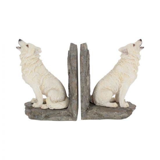 Wardens of the North Bookends 20.3cm Wolves Wolves Indéterminé