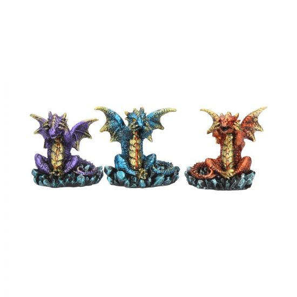 Three Wise Dragons (Set of 3) Dragons Dragons Value Range